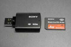 メモリースティック Pro-HG Duo HX
