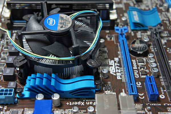 Intel Core i5-3570K+ASUS P8Z77-M