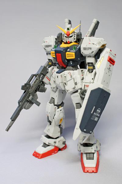 RG ガンダム Mk-II (エゥーゴ仕様)