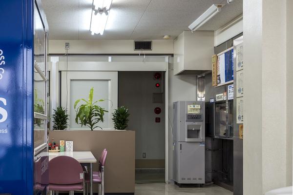 鳥取市役所食堂