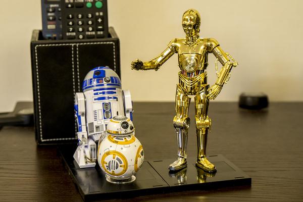 1/12 BB-8 & R2-D2 & C-3PO