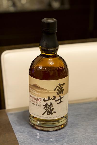 キリン 富士山麓 樽熟原酒 50°