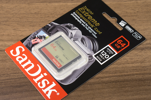 SanDisk Extreme CF 64GB