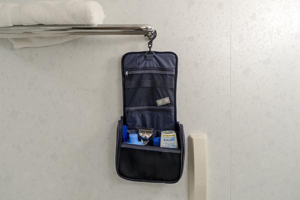 無印良品 ポリエステル吊して使える洗面用具ケース