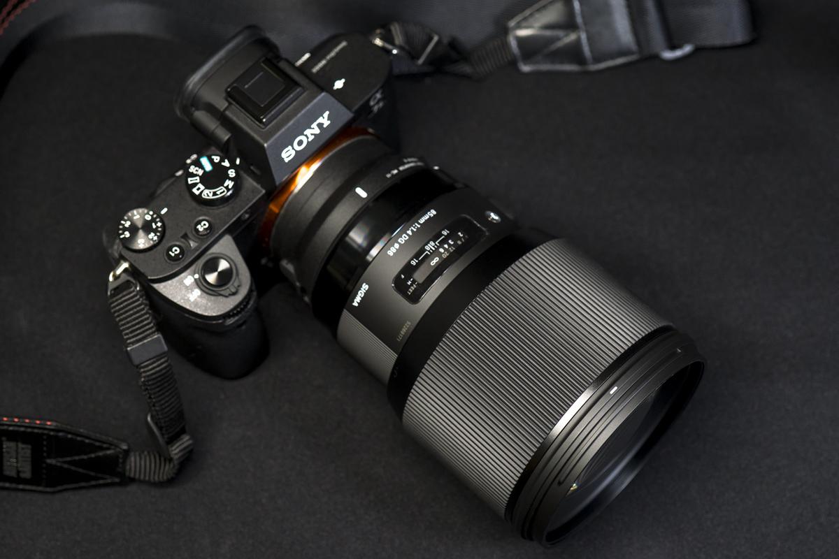 sigma 85mm f1.4 ファームウェア