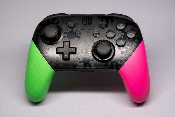 Nintendo Switch Pro コントローラー スプラトゥーン 2 エディション