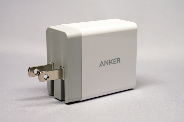 24W 2 ポート USB-AC