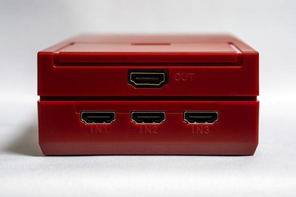 CYBER・レトロデザイン HDMI セレクター 3in1