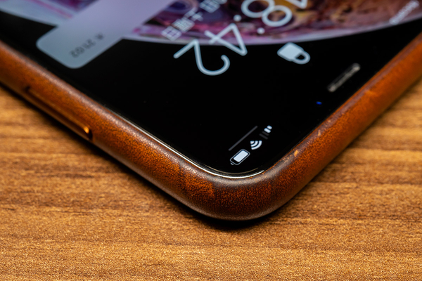 Apple iPhone XS レザーケース
